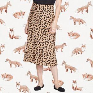 NWT A New Day Leopard Skirt sz XL